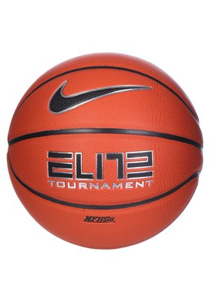 ELITE TOURNAMENT BASKETBALL - Basketball - amber / black / metallic silver