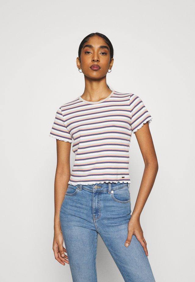 LETTUCE TEE - T-shirt imprimé - white