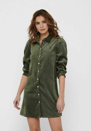 ONLRILLA PUFF DRESS - Shirt dress - kalamata