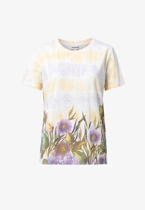 OSLO - Camiseta estampada - white