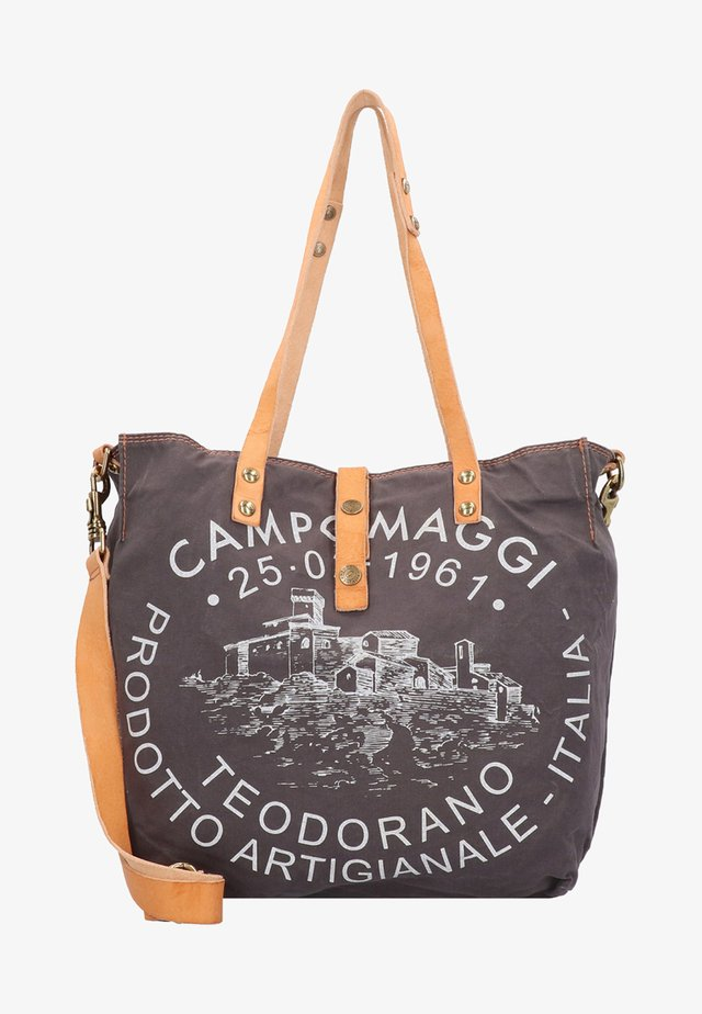 TEODORANO - Handbag - grey/white
