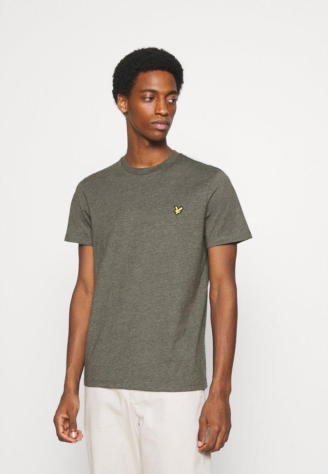 MARLED - T-shirt basic - trek green marl