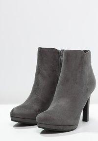 Buffalo - High heeled ankle boots - grey - 2
