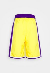 Nike Performance - NBA LA LAKERS SHORT - Squadra - amarillo/field purple/white - 7