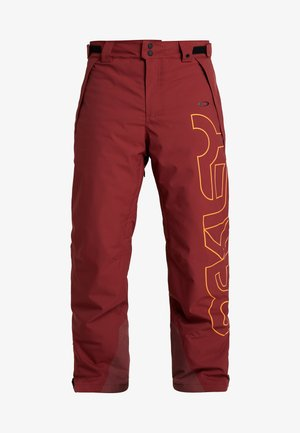 CEDAR RIDGE PANT - Snow pants - oxblood red