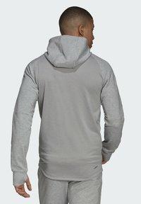 adidas Performance - M MT FZ HD - Zip-up sweatshirt - grey - 2