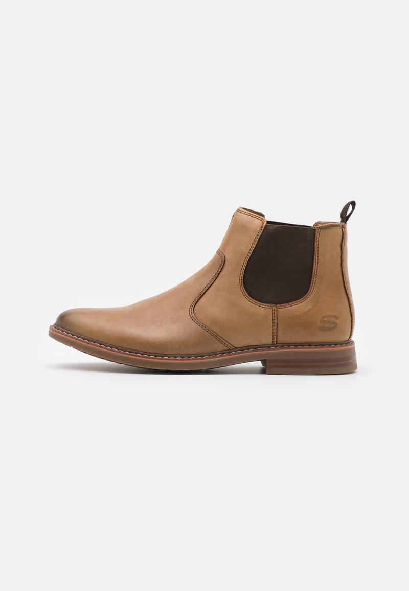 Skechers - BREGMAN MORAGO - Classic ankle boots - tan