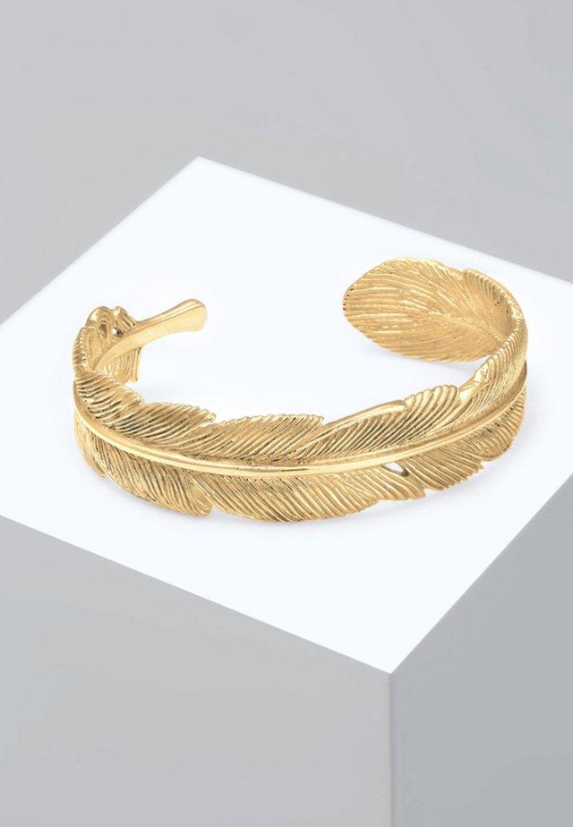 BANGLE FEDER BOHO - Armband - gold coloured
