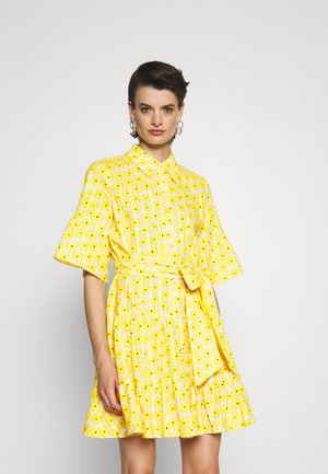 BEATA DRESS - Shirt dress - sunshine yellow