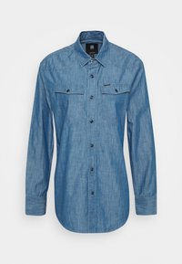 G-Star - RELAXED - Button-down blouse - rinsed - 6