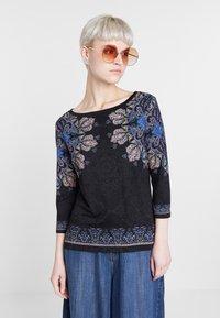 Desigual - CANNES - Langærmede T-shirts - black - 0