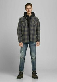 Jack & Jones PREMIUM - Summer jacket - climbing ivy - 1