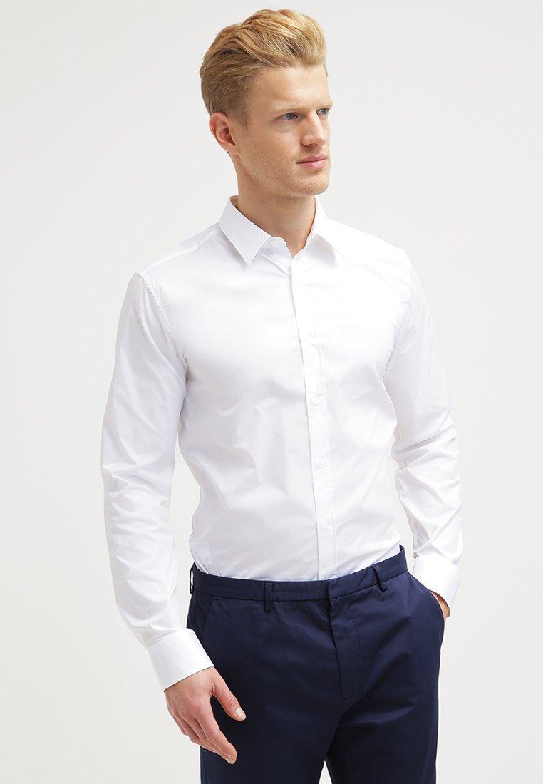 HUGO - ELISHA EXTRA SLIM FIT - Zakelijk overhemd - open white
