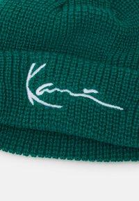 Karl Kani - SIGNATURE FISHERMAN BEANIE UNISEX - Muts - turquoise - 3