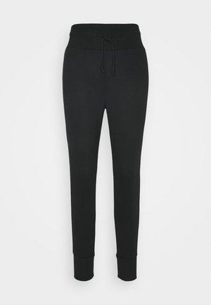 High Waist Lightweight Slim Jogger - Tracksuit bottoms - black