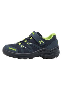 Lowa - INNOX PRO GTX UNISEX - Hiking shoes - stahlblau/limone - 0