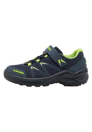 INNOX PRO GTX UNISEX - Hiking shoes - stahlblau/limone