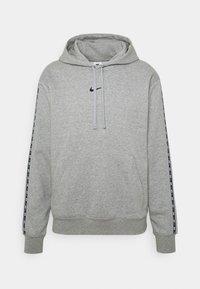 dk grey heather/black