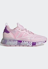 adidas Originals - ZX 2K BOOST SCHUH - Trainers - pink - 7