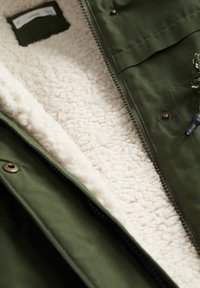 Mango - FAUX SHEARLING LINING - Winter coat - khaki - 2