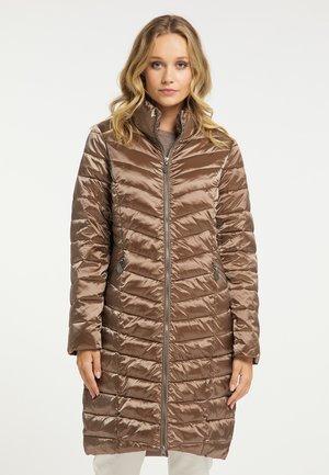 Winter coat - tabak