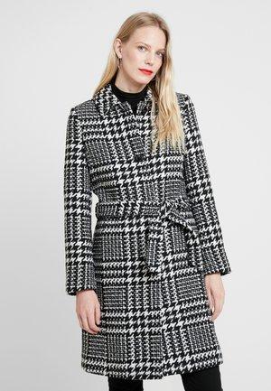 CHECK COAT - Manteau classique - black