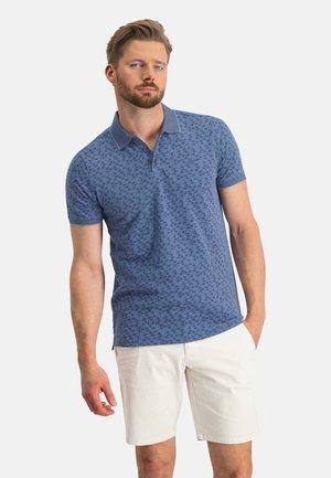 Poloshirt - grey blue/cobalt