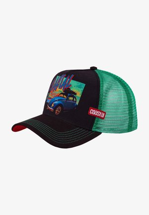 Cap - brown/green