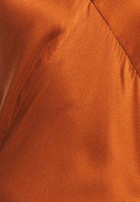 ASCENO - THE SLIP DRESS - Nightie - rust - 2