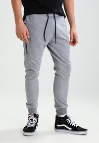 YOURTURN - Pantalones deportivos - mottled grey - 0