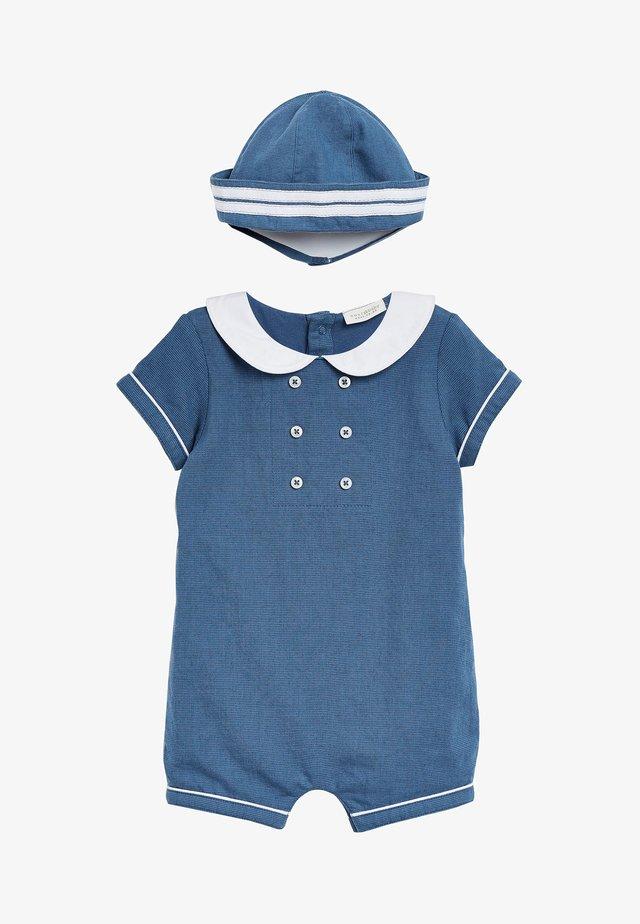 SET - Overall / Jumpsuit - blue