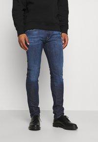 Replay - ANBASS ICE BLAST - Slim fit jeans - dark blue - 0