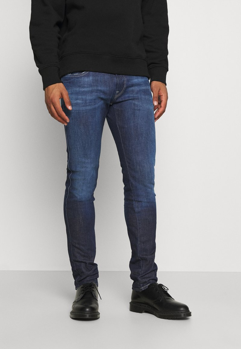 Replay - ANBASS ICE BLAST - Slim fit jeans - dark blue
