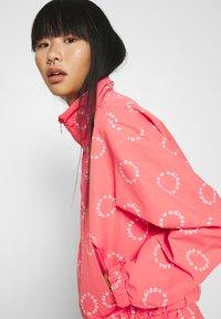 adidas Originals - TRACK TOP - Summer jacket - magic pink/white - 4