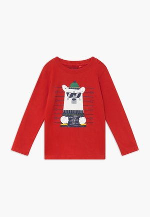 KIDS CHRISTMAS - Long sleeved top - rot