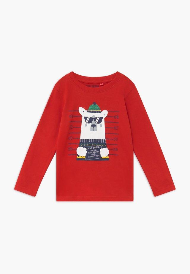 KIDS CHRISTMAS - T-shirt à manches longues - rot