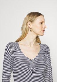 Anna Field - Long sleeved top - dark blue/white - 3