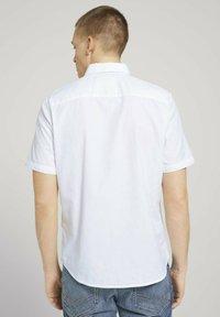 TOM TAILOR - Shirt - white - 2