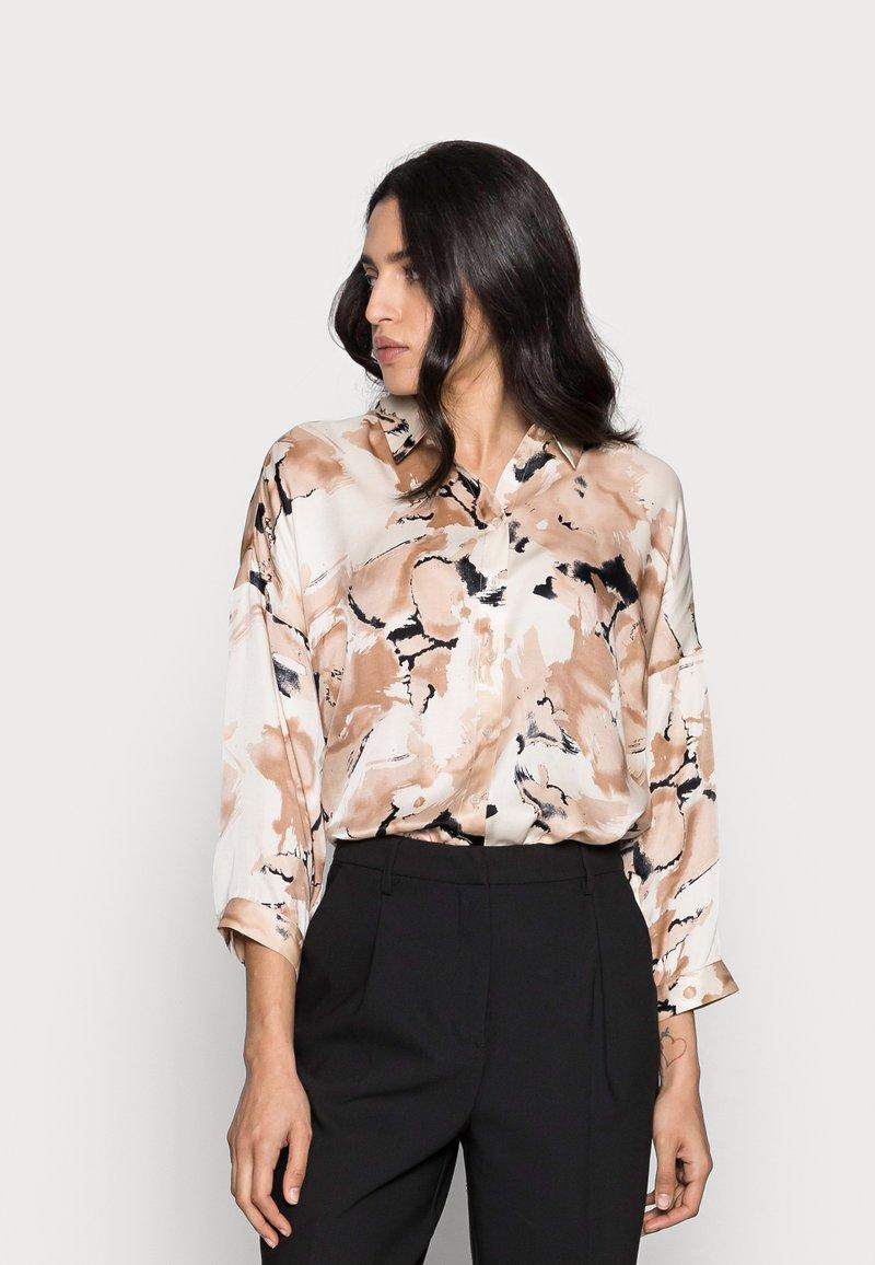 InWear - YEN SHIRT - Button-down blouse - beige