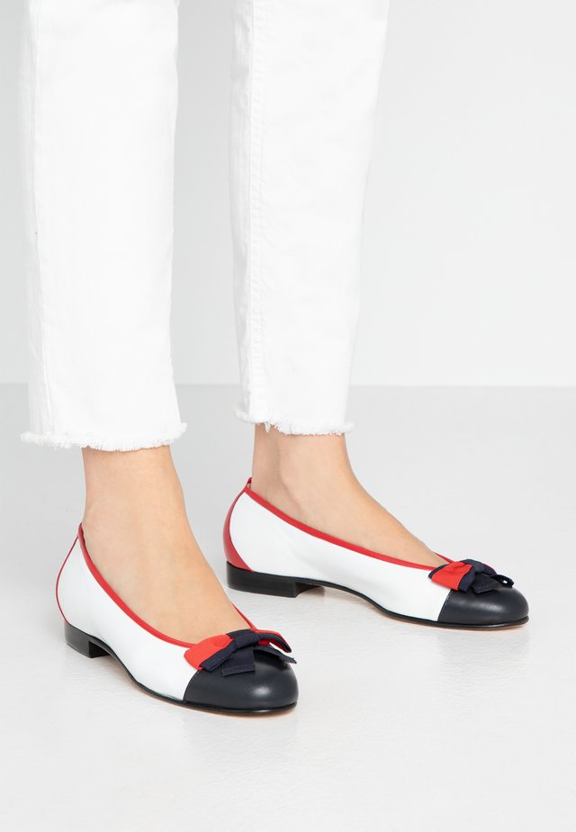 DOLLY - Ballerinat - marine/bianco/rosso