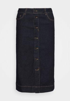 YOKE - Gonna di jeans - indigo blue denim