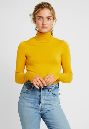 ONLVENICE ROLLNECK - Strikkegenser - golden yellow