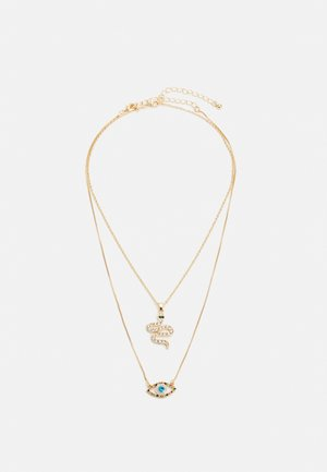 PCEYE NECKLACE 2 PACK - Necklace - gold-coloured