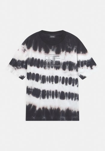 JUST OVER - Print T-shirt - bianco