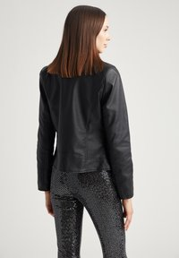 DeFacto - Giacca in similpelle - black - 2