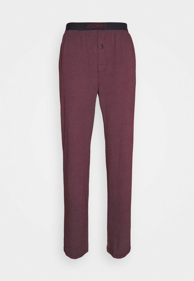 PANTS - Pyjamabroek - bordeaux