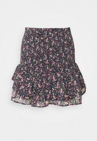 ONLY - ONLJENNIFER MINI SKIRT - Mini skirt - black - 0