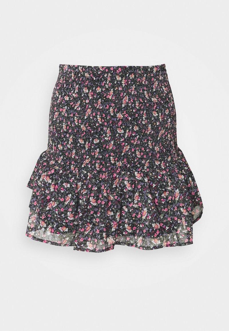 ONLY - ONLJENNIFER MINI SKIRT - Mini skirt - black