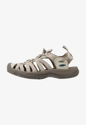 WHISPER - Walking sandals - agate grey/blue opal
