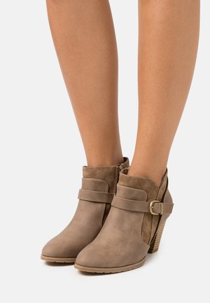 AZANTE - Ankle boots - camel